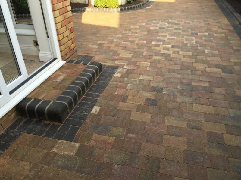 Driveway Installation With Paving in Wickford, Essex