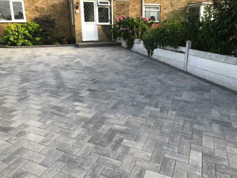New Driveway in Basildon, Essex