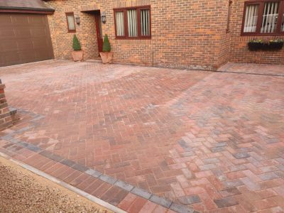 Block Paving in Chelmer Village