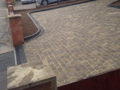 Block Paving in Great Warley