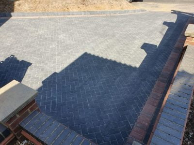 Block Paving Driveways in Allhallows