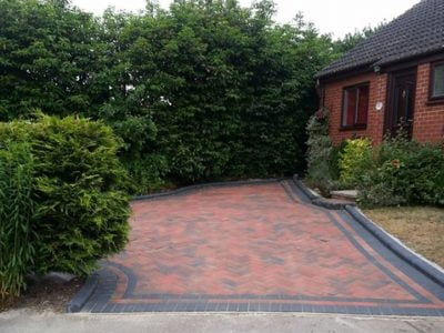 Block Paving Driveways in Stock
