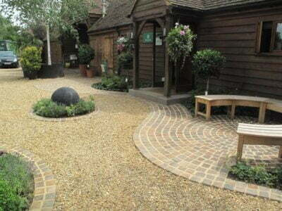 Driveway with Gravel