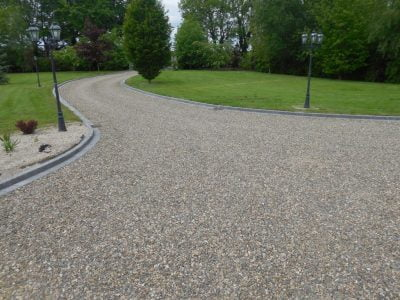 Gravel Stone Driveway Installation in Allhallows