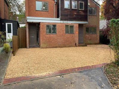 Gravel Stone Driveway Installation in Brentwood