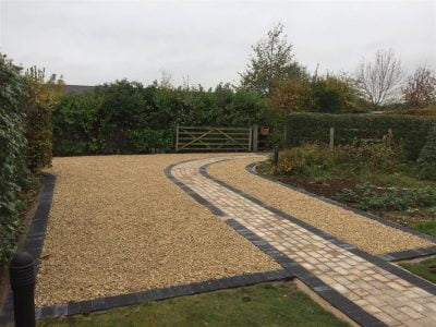 Gravel Stone Driveway Installation in Rayleigh