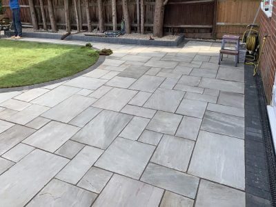 Patio Installers in Allhallows