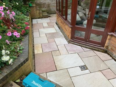 Patio Installers in Barling
