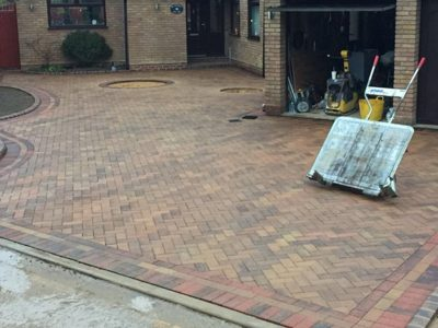 Paving Installation in Allhallows