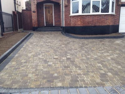 Paving Installation in Bicknacre