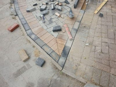 Paving Installation in Chelmer Village