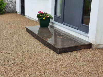 Tar&Chip Driveway Installation in Allhallows
