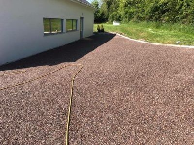 Tar&Chip Driveway Installation in Rayleigh