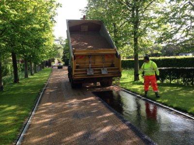 Tar&Chip Driveway Installation in Rochford