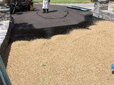 Tar Chip Driveways in Barling
