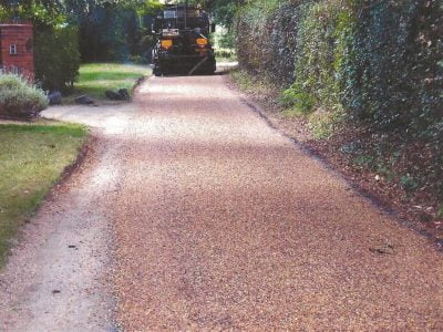 Tar Chip Driveways in Ingrave