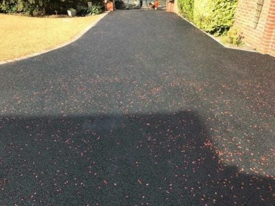 Tar Chip Driveways in Roxwell