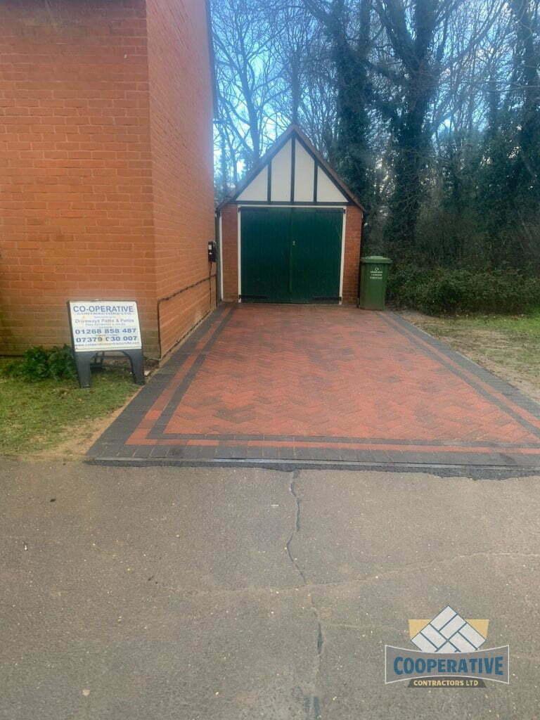 Block Paved Driveway in Chelmsford, Essex