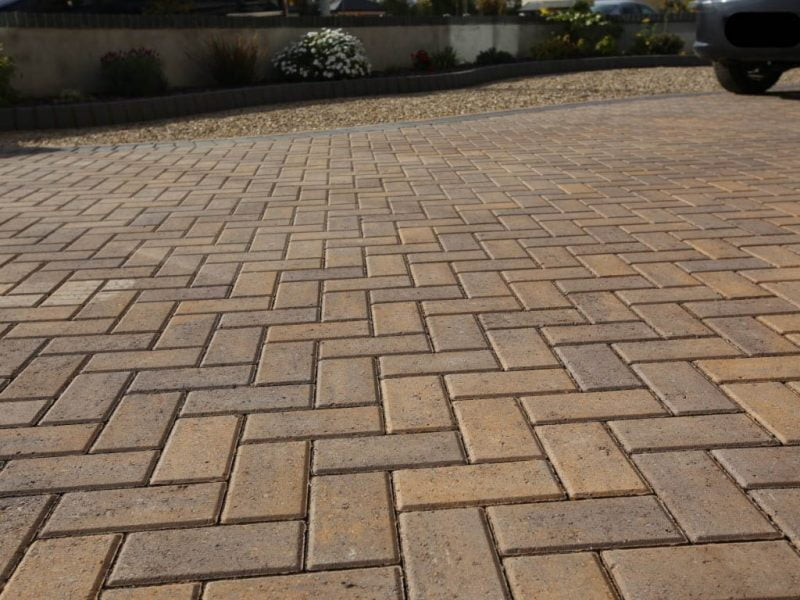 Herringbone Block Paving 1